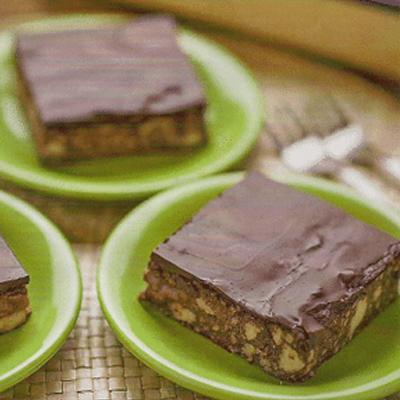 Csokis köles sütemény