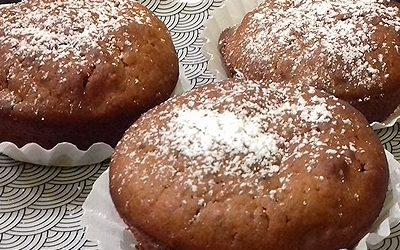 Ildi sütőtökös-diós muffinja