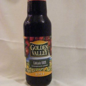 "Céklalé 100% ""Golden Valley"" 0.75L"