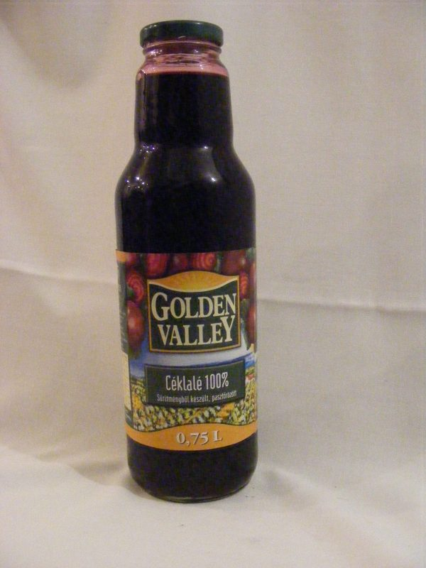 "Céklalé 100% ""Golden Valley"" 0.75L"