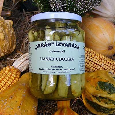 Hasáb uborka - Virág Ízvarázs