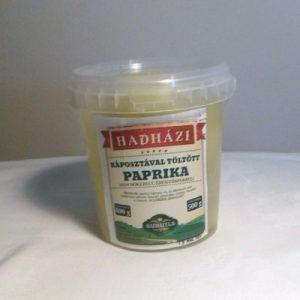 Káposztával töltött almapaprika-Hadházi