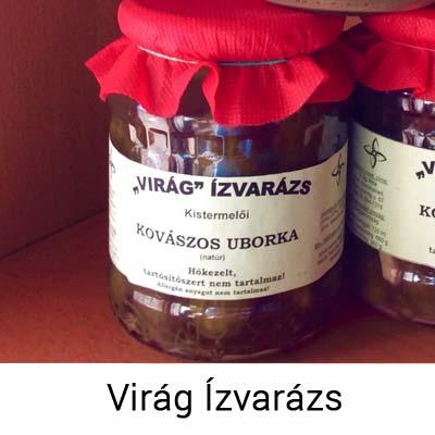 Kovászos uborka, natúr - Virág Ízvarázs